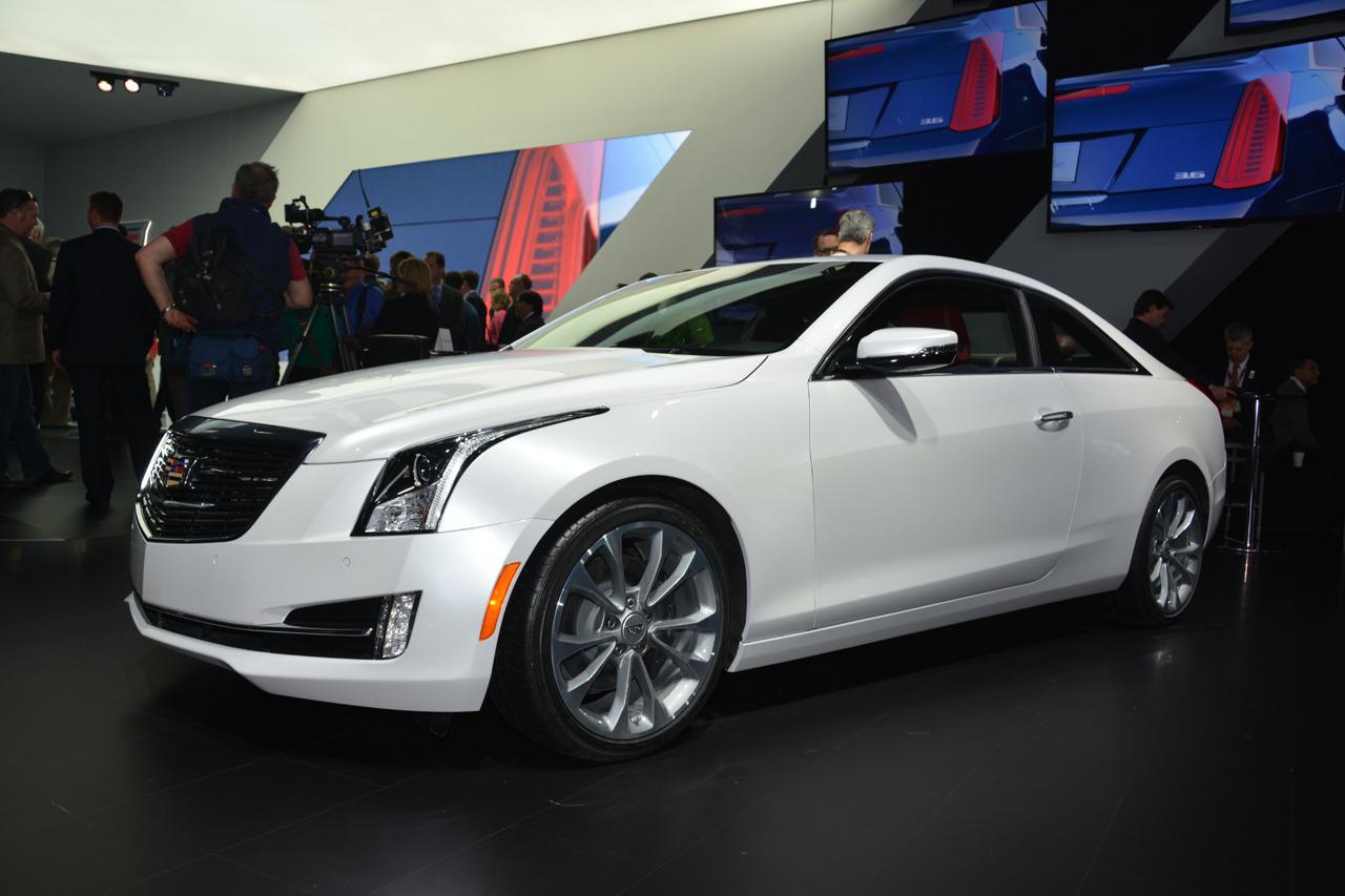 Cadillac представил новый купе ATS на Детройт-2014
