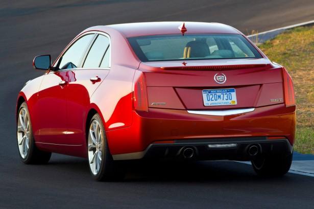 Люксовый седан Cadillac ATS