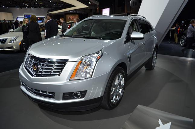 Cadillac SRX CUE