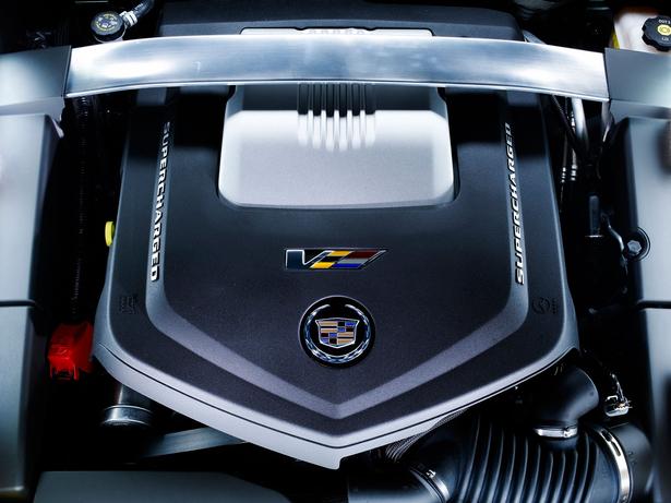 Двигатель Cadillac-CTS-V Wagon