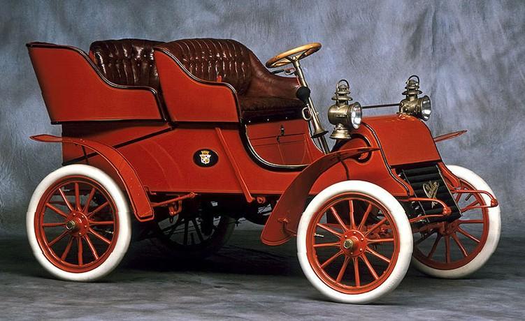 Первый Cadillac Model A 1902 года