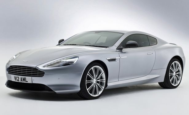 Aston Martin DB9 Centenary Edition