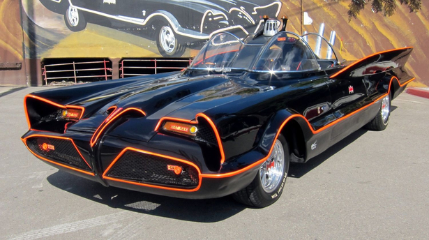 Раритетный Batmobile