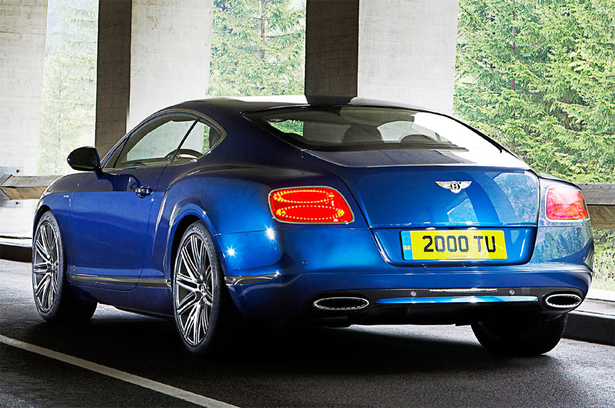 Bentley Continental GT Speed 2013 1