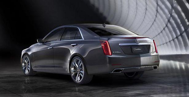 Cadillac CTS 2014 2
