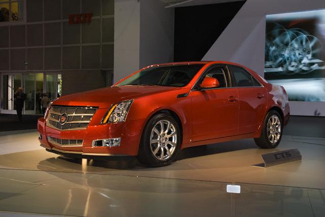 Новая модель Cadillac CTS