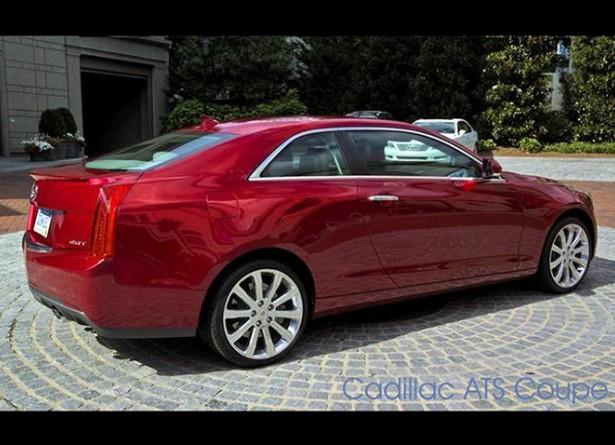 Cadillac готовится к выпуску купе ATS
