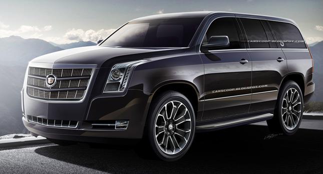 Информация о комплектации Escalade 2014 года рассекречена Cadillac
