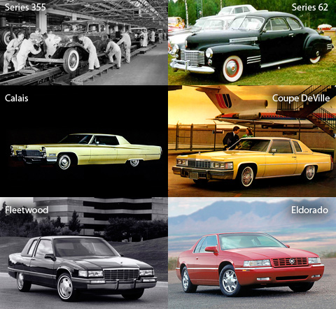 Модели Cadillac